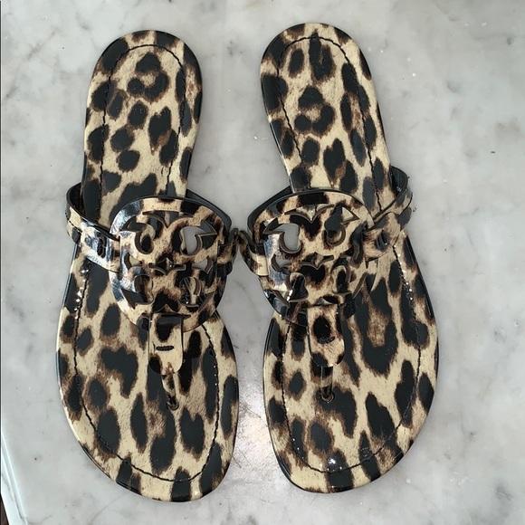 8bd0dc5f4cefb Leopard Tory Burch Miller sandals. M 5c489f2b95199633d20f5c5d